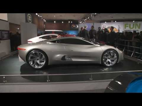 Jaguar Show GVs Press Conf, Stand & Cars New Delhi Auto Expo 2012