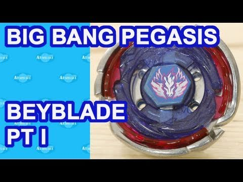 Beyblade Big Bang Pegasis Pt 1 Beyblades MFB4D Review Unboxing