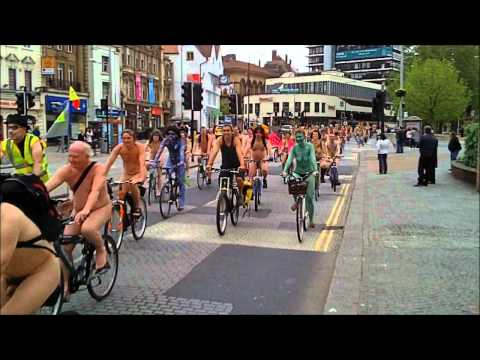 Bristol World Naked Bike Ride 2012