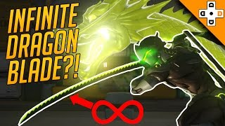 Overwatch Funny & Epic Moments 124 - INFINITE DRAGON BLADE?! - Highlights Montage