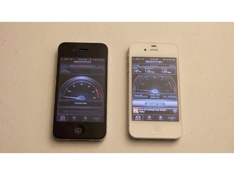 iPhone 4S vs. iPhone 4: Speed Test & Gaming
