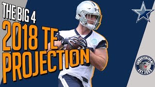 Dallas Cowboys Tight Ends Roster Projection | Which TE Make the Cowboys 53 Man Roster