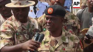 Nigeria army releases 244 who denounced Boko Haram
