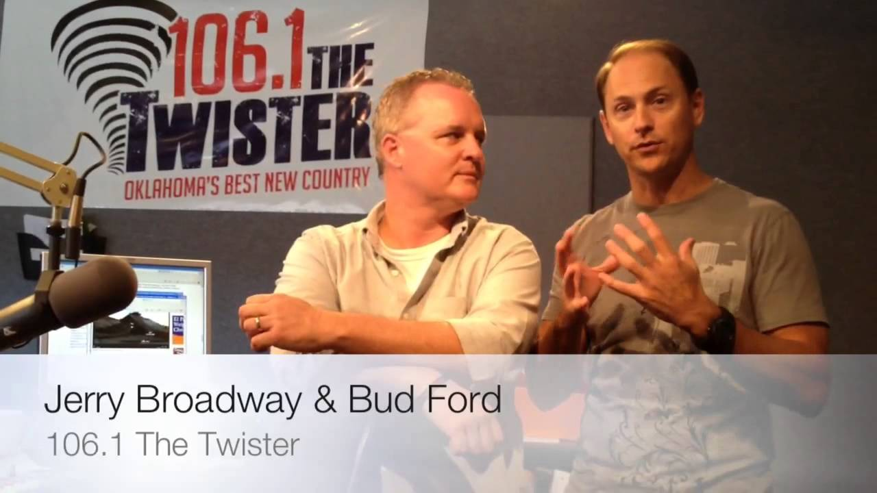 bud and broadway on 106 1 the twister youtube. Black Bedroom Furniture Sets. Home Design Ideas