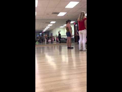 Kylie ballet walk