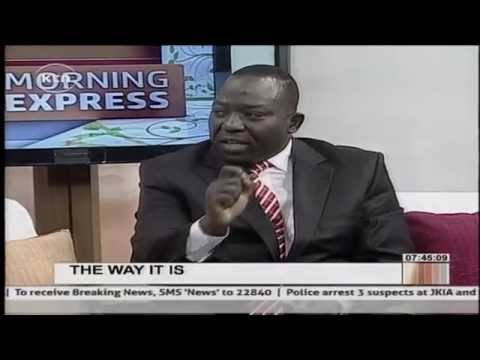 The way it is: Morning Express discussion with Ambrose Weda and Agostinho Neto {Part 1}