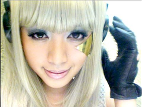 Lady GaGa Poker Face Tutorial - Lady GaGa Poker Face smink és haj
