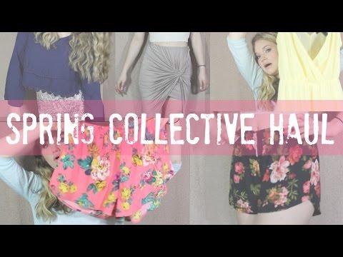 HUGE SPRING HAUL| Forever 21, H&M, Charlotte Russe etc.. 🌸