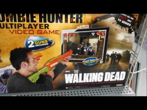 Zombie Hunter TV Game Plug n Play The Walking Dead Series Rare Multi Player