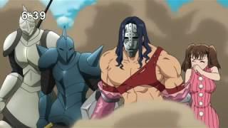 Meliodas vs Galland merlin turned into stone Nanatsu no Taizai Imashime No Fukkatsu Episode 5