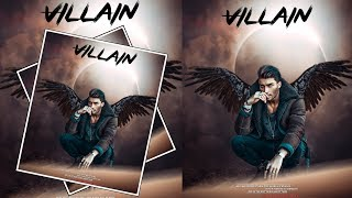 New PicsArt And lightroom Mobile Editing || Devil Wings Photo Editing || I'm r t