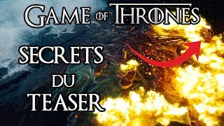Game of Thrones saison 8 : les révélations du teaser !