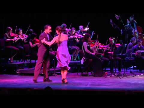 Pan Am Symphony plays Derecho Viejo by Eduardo Arolas