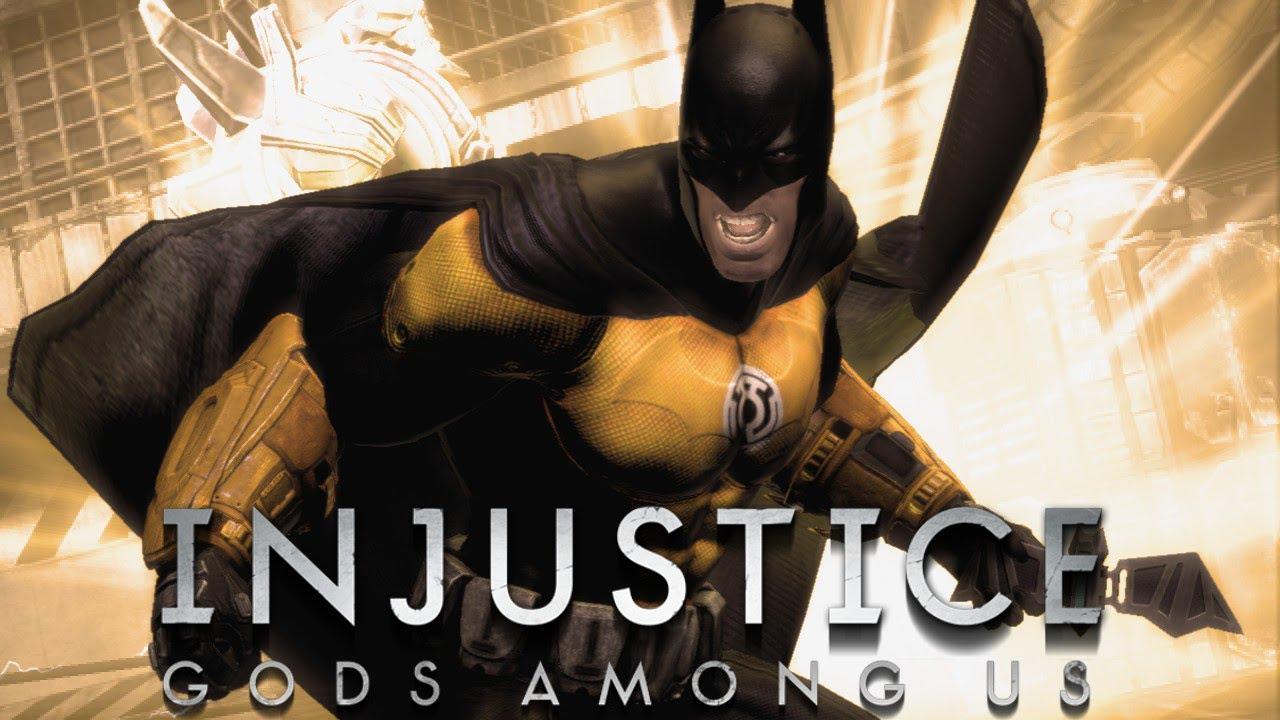 Yellow Lantern Batman Arkham City us Yellow Lantern Batman