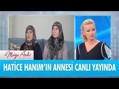 Hatice Fatma İster'in annesi canlı yayında - Müge Anlı İle Tatlı Sert 22 Ocak 2018
