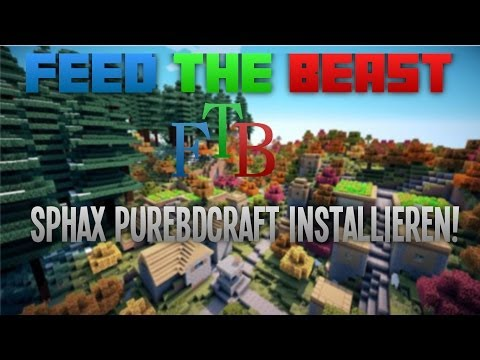 Minecraft Feed the Beast - Sphax PureBDcraft für FTB! [German] [Tutorial] [HD]