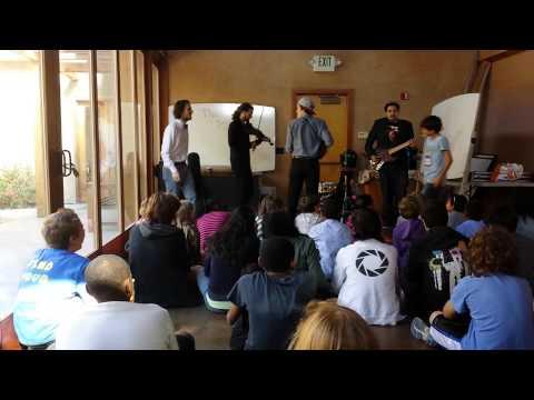 Boston Boys Visit Archway School