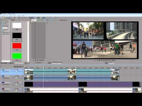 Как сделать видео во весь экран сони вегас