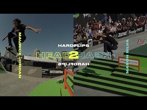 Head 2 Head: Micky Papa Vs. Mason Silva Hardflip