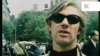 1960s New York Vietnam protest