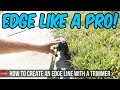 Lagu How To Edge Like A Pro With a String Trimmer Vs Using A Stick Edger - Lawn Care Vlog Walk Through