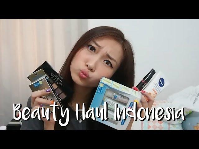 Beauty Haul Indonesia (Maybelline, Nivea, Hada Labo etc)