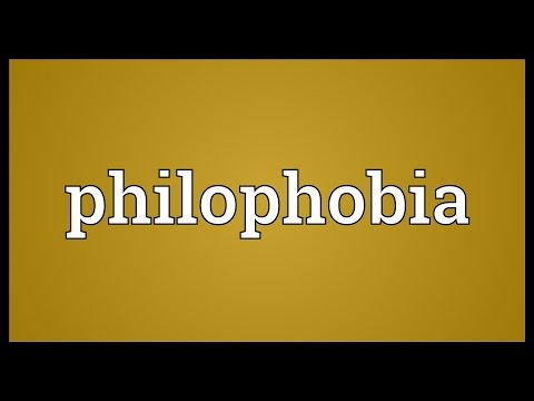 Philophobia Meaning