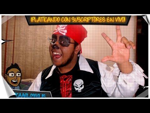 Platicando con Suscriptores en VIVO   Halloween Editión!