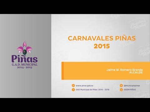 Carnavales Piñas 2015