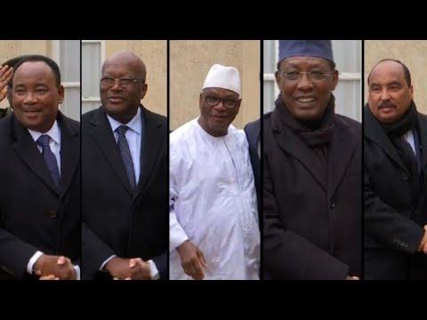 Sommet à Paris pour la force G5 Sahel
