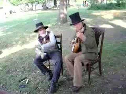 Get Up In The Morning/Circus Jig - minstrel banjo &amp; bones
