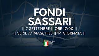 Serie A1M [1^]: Fondi - Sassari 25-26