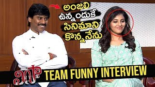 Lisaa Movie Team Funny Interview | Lisaa Movie | Anjali | Suresh Kondeti | Top Telugu Media