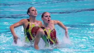Brazilian synchronized swimmers determined to rise in Olympics