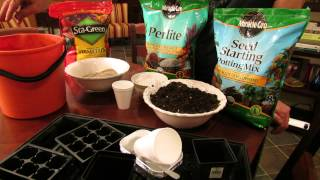 For New Gardeners: What is Perlite, Peat Moss, Vermiculite and Seed Starting Mix - MFG 2014