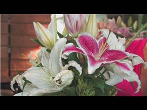 Wedding Floral Arrangements How to Make Flower Arrangements With Lilies
