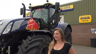 New Holland T7 HD TANTE RED RIKIE !!  racing trekker Zwarte cross Trekkerweb