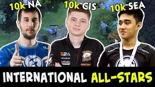 Download International ALL-STARS — 3x 10k Arteezy, Abed, Ramzes in one game 3Gp Mp4