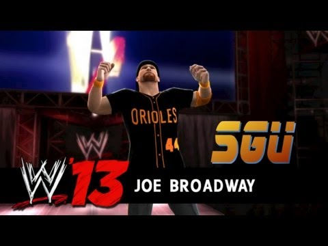 WWE 13: Introducing Joe Broadway - Available in Community Creations!