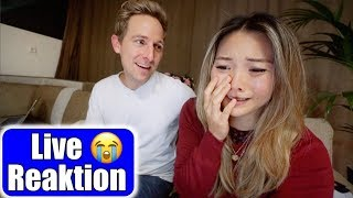 So emotional! 😭 Live Reaktion mit Justus zur halben Million! Countdown auf Instagram | Mamiseelen