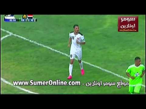 مباراة ملعب كربلاء - نجوم 2007 - الشوط 1 الاول