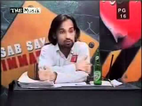 M.Waqar Zaka Fighting With Rapist Boy.