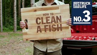 How to Clean a Fish | Truck Life | Ford