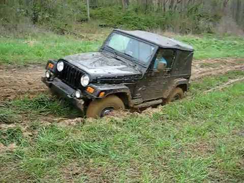 Stock Jeep Wrangler Video