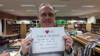 Central NY teachers, students give their reasons for supporting public education