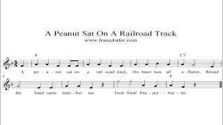 A Peanut Sat On A Railroad Track - instrumental