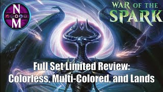 War of the Spark Limited Review:  Colorless, Multi-Colored, and Lands