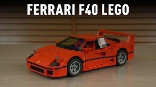LEGO Creator Ferrari F40 incelemesi