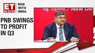 PNB's CEO Sunil Mehta briefs media about Q3 performance