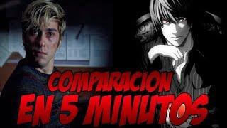 DEATH NOTE : Anime vs Netflix (Comparación rápida)